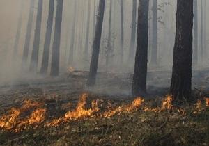 Пожарные спасли от огня заповедник Хортица