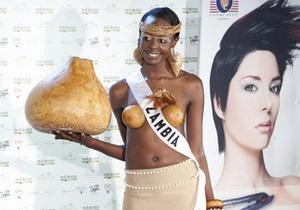 Фотогалерея: Государственные прелести. Участницы Мисс Вселенная-2010 в национальных костюмах