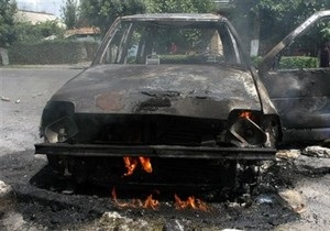 В Черкассах задержали 19-летнего поджигателя автомобилей