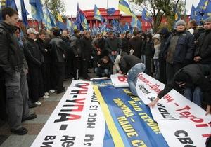 Свобода призвала Ющенко признать воинов ОУН-УПА участниками борьбы за независимость
