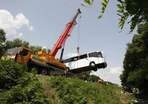 Водитель разбившегося под Черниговом автобуса будет отбывать наказание в Украине - МВД