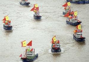 Армада из Поднебесной: тысяча китайских судов направляются к спорным с Японией островам