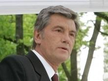 Ющенко встретился с Джулиани и уехал в Израиль