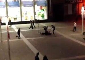 В Днепропетровске мужчина открыл стрельбу в центре города