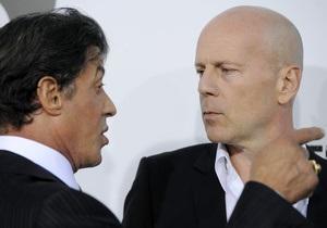 Брюс Уиллис ушел из Неудержимых из-за ссоры со Сталлоне
