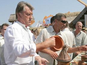 Ющенко отправляется открывать Сорочинскую ярмарку