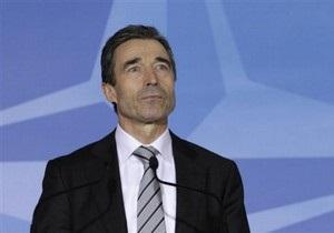 Генсек НАТО считает, что в будущем альянс не будет играть ведущую роль в Ливии