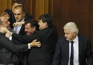 Литвин: На этой пленарной неделе языковой законопроект не может, и не будет рассматриваться