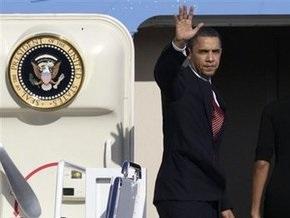 Обама начинает визит в Южную Корею