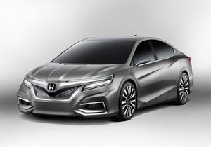 Honda запатентовала дизайн своего нового седана