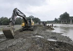 Минобороны сформировало оперативную группу для борьбы с наводнением