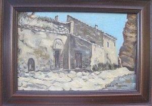Автор пушистого Иисуса выставила на аукцион одну из своих картин
