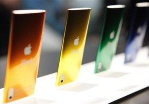 В сентябре Apple представит новую линию плееров iPod