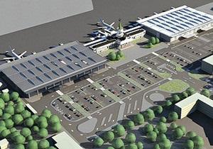 Реконструкцию Харьковского аэропорта временно приостановили