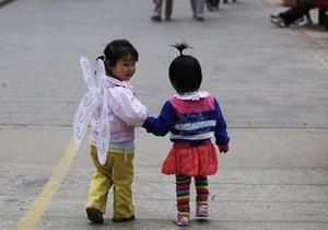 Китайцам не разрешат рожать больше одного ребенка