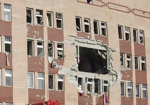 Тимошенко назвала причину взрыва в луганской больнице