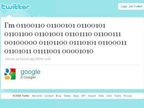 Google завел блог на Twitter