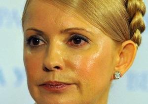 Батьківщина заявляет о провокациях вокруг лечения Тимошенко
