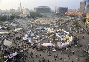 В Каире в драке торговцев с демонстрантами пострадали шесть человек