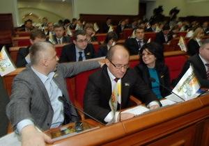 Киевсовет внес изменения в бюджет столицы на 2010 год