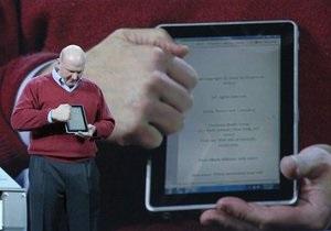 Microsoft представил планшетный компьютер раньше Apple