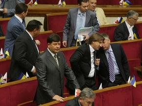 Рада приняла в первом чтении законопроект Ющенко о выборах