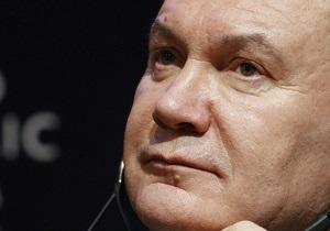Янукович считает, что цена на газ для Украины должна быть ниже $200