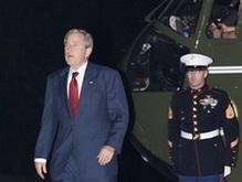 В день приезда Буша введут специальный режим безопасности