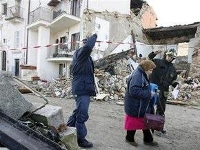 Италия попросит помощи ЕС в связи с землетрясением