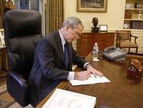 Буш досрочно проголосовал на президентских выборах
