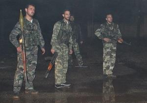 Сирийские повстанцы заявили о захвате ракет армии Асада