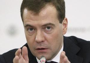 Медведев вылетел в Польшу на похороны Леха Качиньского