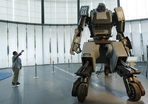 Фотогалерея: Зверь-машина. Японцы представили огромного боевого робота Kuratas