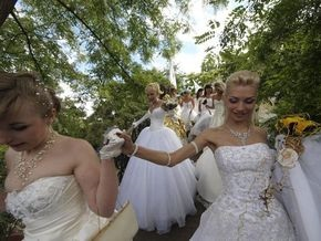 В Херсоне снимают фильм о браках украинок с иностранцами