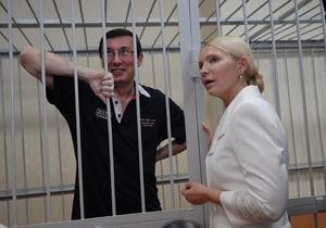 Луцкий горсовет призвал Януковича освободить Тимошенко и Луценко
