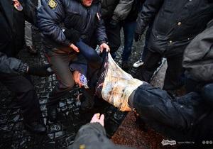 На Русском марше в Петербурге и Москве задержаны более 130 человек