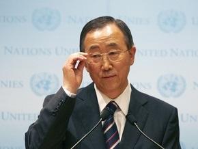 Генсек ООН считает решение КНДР о запуске спутника угрозой миру