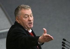 Жириновский призвал Тигипко поддержать Януковича