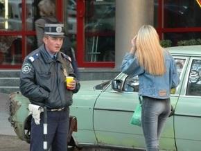 Киевская милиция призвала женщин не оставлять личные вещи в авто