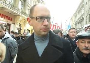 Яценюк заявил, что он против однополых браков