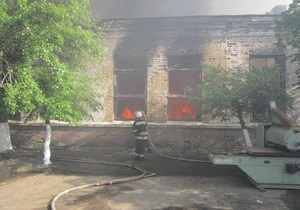 новости Киева - В Киеве ликвидирован пожар на складе: жертв и пострадавших нет