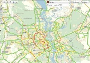 новости Киева - пробки - дороги - Киев парализовали пятничные пробки