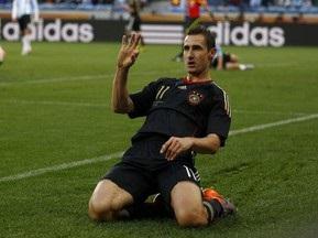 Клозе: Надеюсь, что Роналдо не расстроится, если я стану рекордсменом мира