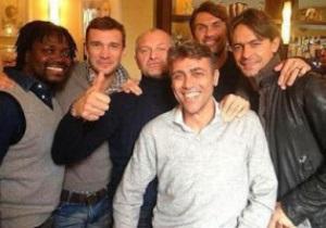 Шевченко посетил Милан и похвалил юную звезду итальянского клуба