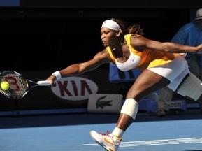 Australian Open: Серена Уильямс с трудом выходит в полуфинал