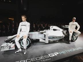 Виталий Кличко посетил презентацию команды Mercedes GP