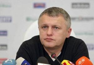 Суркис: Я ни с кем из тренеров переговоры не вел