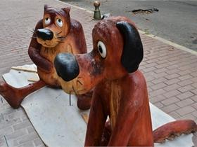 новини Києва - пам ятник - Жив-був пес - У Києві з явиться пам ятник персонажам культового мультфільму