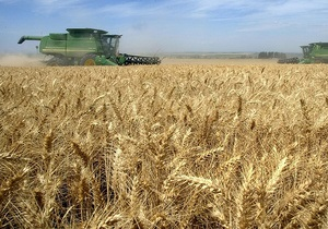 Україна зібрала 8 млн тонн зерна - прем єр