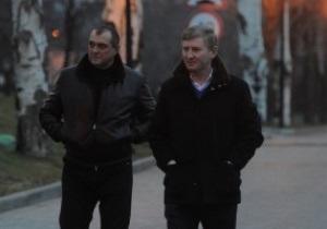 Фотогалерея: Ахметов проверил готовность Шахтера к Боруссии
